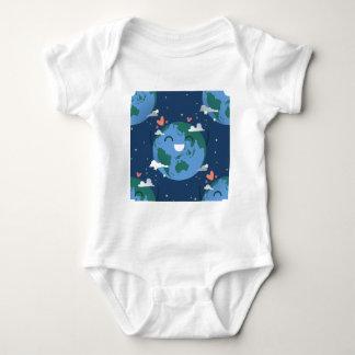 cute Earth Day Baby Bodysuit