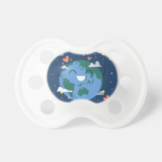 cute Earth Day Baby Pacifier