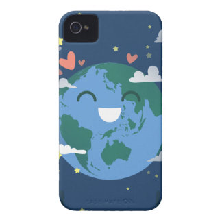 cute Earth Day iPhone 4 Case