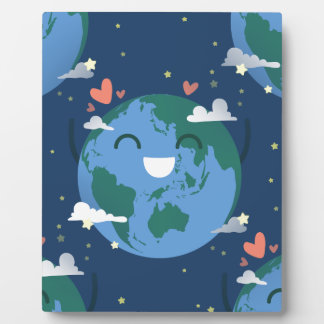 cute Earth Day Plaque