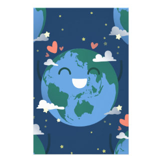 cute Earth Day Stationery