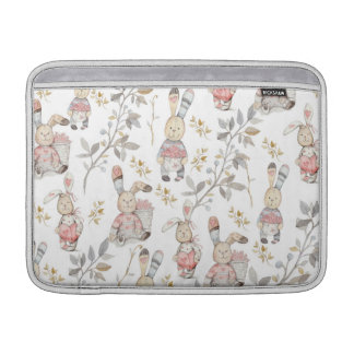 Cute Easter Bunnies MacBook Sleeve
