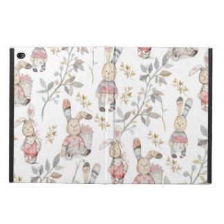 Cute Easter Bunnies Watercolor Pattern Powis iPad Air 2 Case