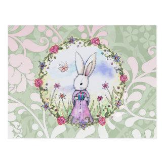 Cute Easter Bunny Postcard
