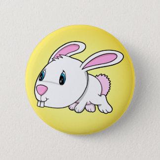 Cute Easter Bunny Rabbit Button