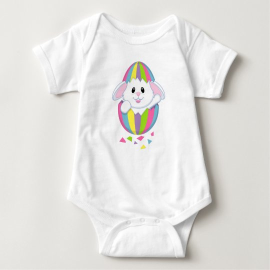 CUTE EASTER BUNNY SUIT/BABY BABY BODYSUIT