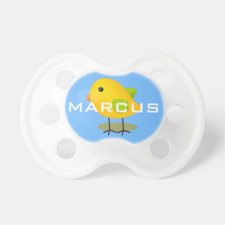 Cute Easter Chick Personalized Pacifier