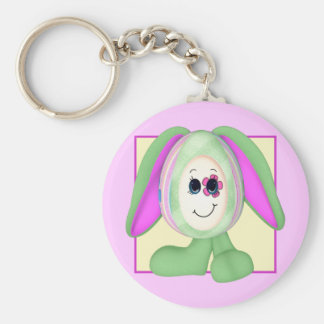 Cute Easter Egg Bunny Key Chain