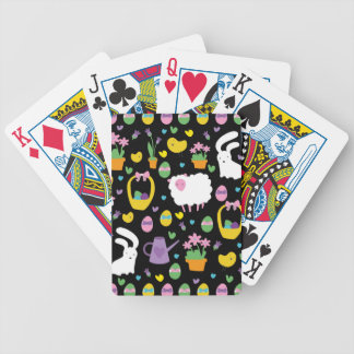 Cute Easter pattern Bicycle Playing Cards