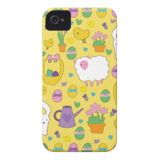 Cute Easter pattern Case-Mate iPhone 4 Cases