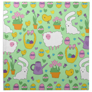 Cute Easter pattern Napkin