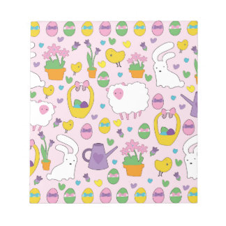 Cute Easter pattern Notepads