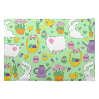 Cute Easter pattern Placemat