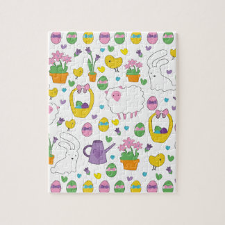 Cute Easter pattern Puzzle