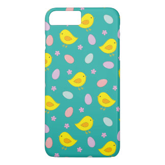 Cute Easter pattern with customizable background iPhone 7 Plus Case