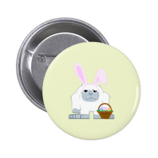 Cute Easter Yeti Pin