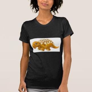 Cute Edmontonia Cartoon Dinosaur T-Shirt