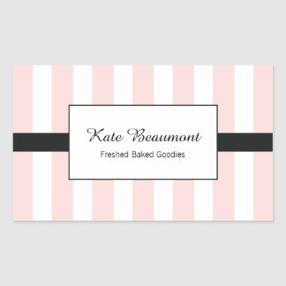 Cute Elegant Pink and White Stripes