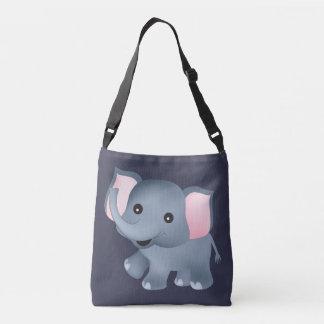 Cute Elephant Crossbody Bag