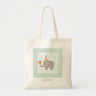 Cute Elephant Kids Tote Bag