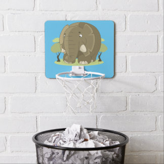 Cute elephant mini basketball hoop
