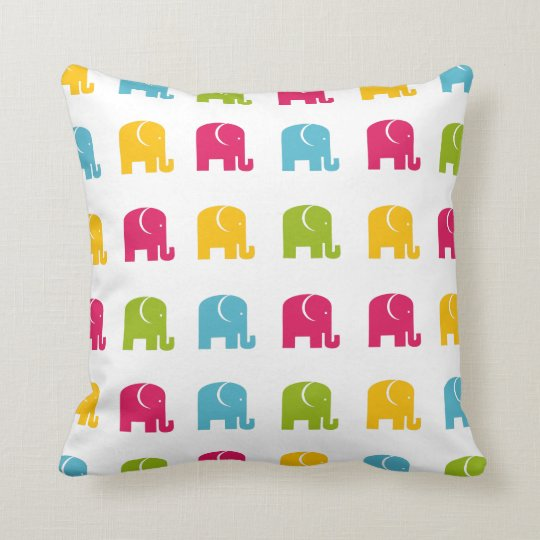 Cute Elephant Pillow