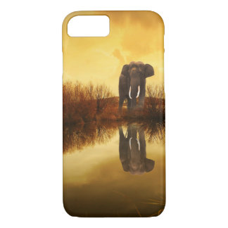 Cute Elephant Reflection Case