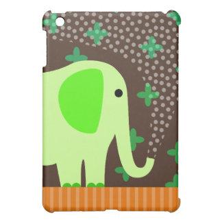 Cute Elephant Spraying Water iPad Mini Covers