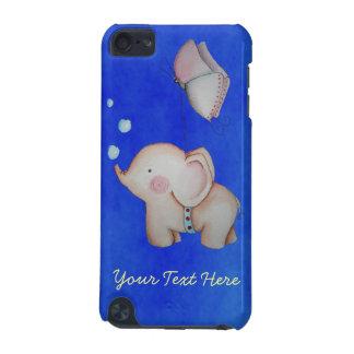 Cute Elephant with butterfly 5th Gen iPod Case