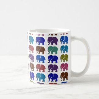 cute elephants coffee mug