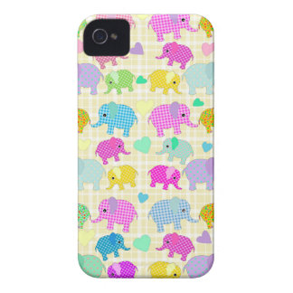 Cute elephants iPhone 4 case