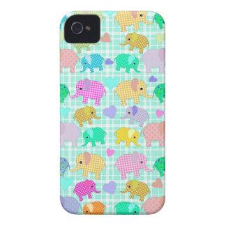 Cute elephants iPhone 4 Case-Mate case