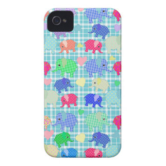 Cute elephants iPhone 4 cover