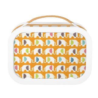 Cute Elephants Lunchbox