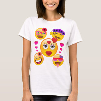 Cute Emoji Faces for Kids and Adults T-Shirt