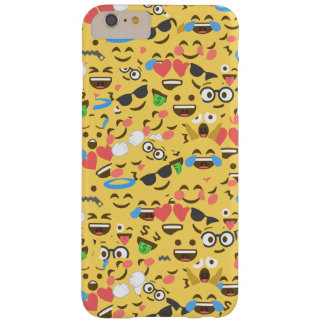 cute emoji love hears kiss smile laugh pattern barely there iPhone 6 plus case