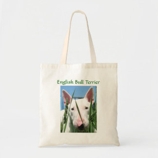 Cute English Bull Terrier Tote Bag