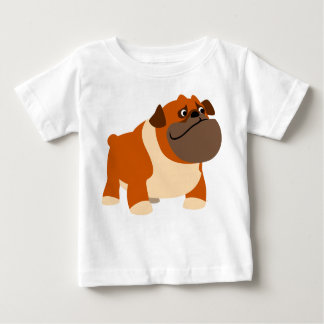 Cute English Bulldog Baby Clothing Baby T-Shirt