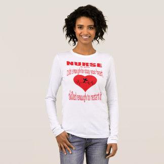 Cute Enough Nurse  By The Grace Long Sleeve T-Shirt