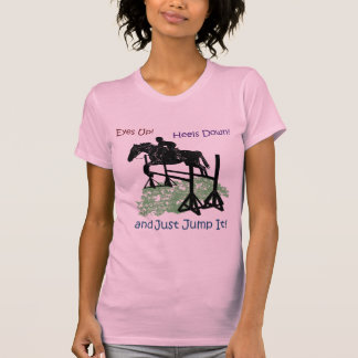Cute Equestrian Horse Jumper T-Shirt