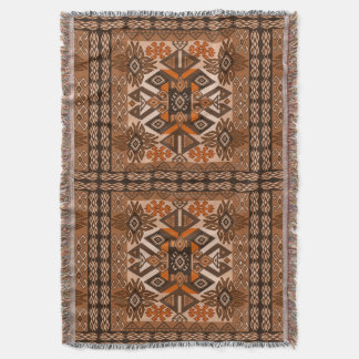 cute ethnic style throw blanket
