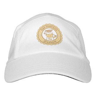 Cute Ewe University Graduate Sheep Pun Humor Headsweats Hat