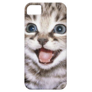 Cute Excited Kitten IPhone Case