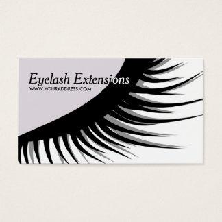 Cute Eyelash Extensions Business Card