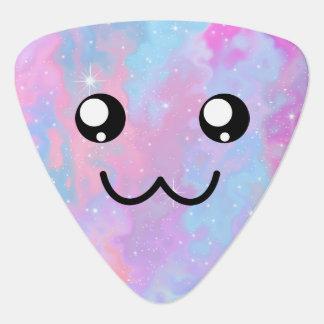Cute Face Kawaii Pastel Magical Colorfull Guitar Pick