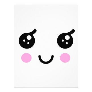 Cute Face Letterhead