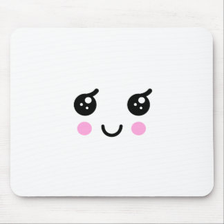 Cute Face Mouse Pad