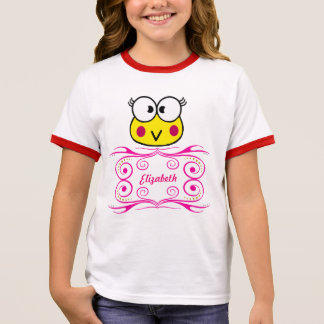 cute face of toad girl ringer T-Shirt