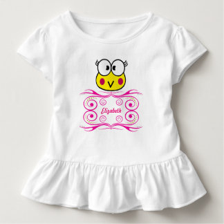 cute face of toad girl toddler t-shirt