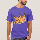 Cute Facetious Cartoon Bobcat T-Shirt
